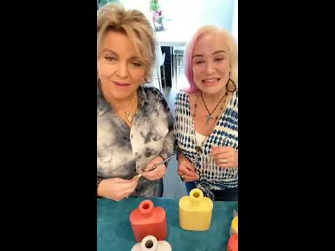 Let's Paint with Tanya Tucker in Her Kitchen using ALL-IN-ONE Paint! Come Join in the FUN!