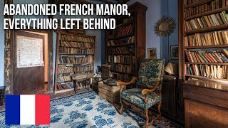 URBEX | Abandoned French manor, everything left behind