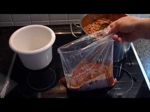 Haushalts Tipp: Einfrieren in Beutel einfach und richtig, gewusst wie