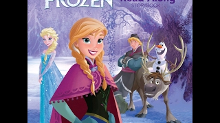 Disney Frozen Storybook & Read-Along CD! Elsa, Anna, Olaf!