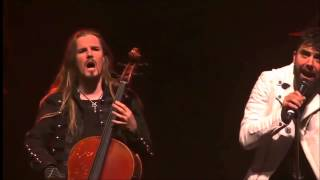 Apocalyptica -Seed of Chaos and Cold Blood LIVE(PROSHOT) :D