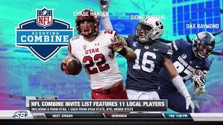 Eleven locals invited to NFL Combine