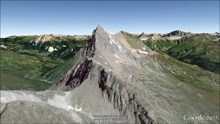 Switzerland (south) Fly-Through Tour in Google Earth