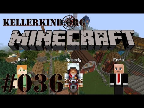 Kellerkind Minecraft SMP [HD] #036 – Dörfer und Tempel ★ Let's Play Minecraft
