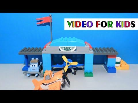 Vidéo LEGO Duplo 10511 : L'école d'aviation