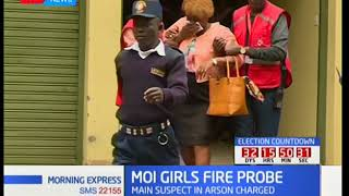 Main suspect behind Moi Girls fire released on 200,000 bail