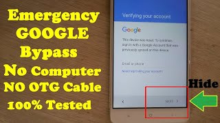 ALCATEL FIERCE 4: HOW TO BYPASS GOOGLE ACCOUNT VERIFICATION.
