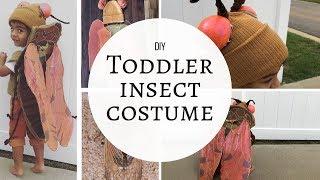 DIY Toddler/ Kid Halloween Costume Idea | DIY Insect Costume Tutorial | SweetMomentsofMine