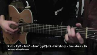 How To Play The Animals Were Gone By Damien Rice