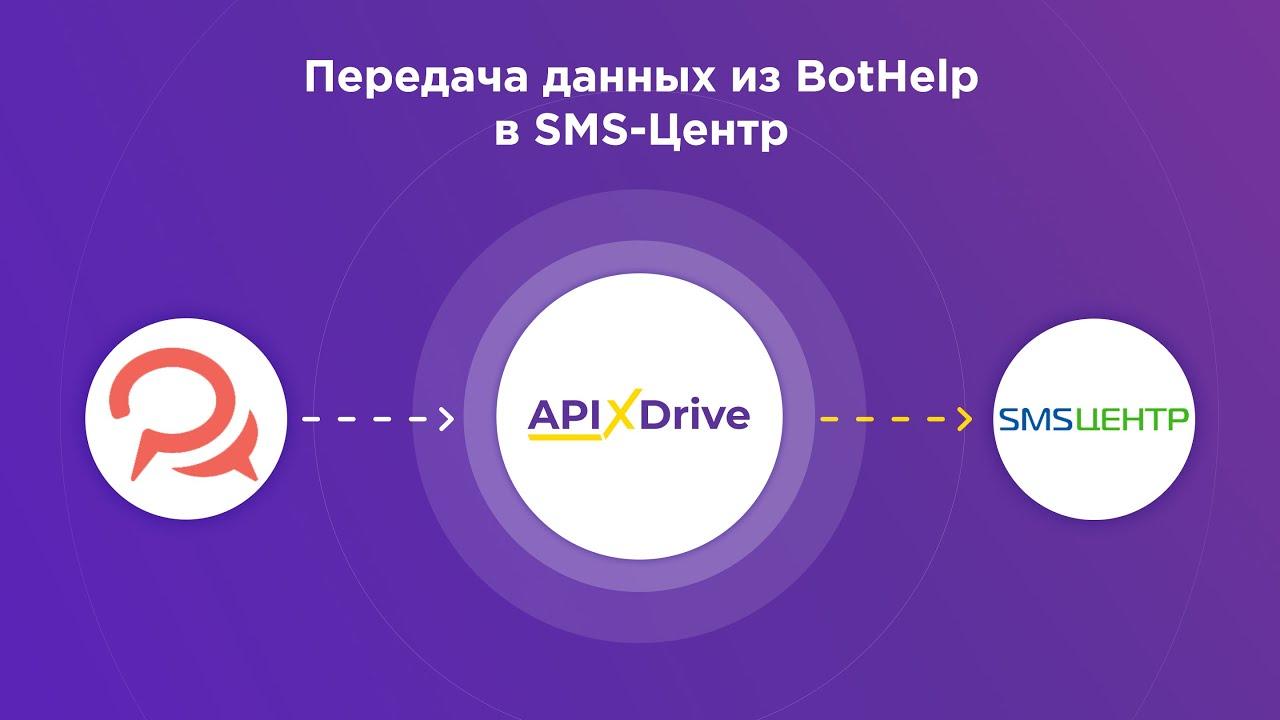 Как настроить SMS рассылку в BotHelp через сервис SMS-Центр?