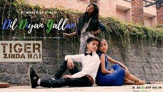 Dil Diyan Gallan - Tiger Zinda Hai | Atif Aslam | SORY | Choreography By Rahul aryan | short film ..