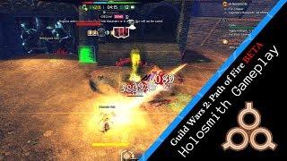 Guild Wars 2 PoF BETA   Holosmith WvW Gameplay Montage