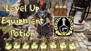 Level Up Equipment Potion