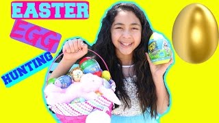 EASTER EGG HUNTING GOLDEN EGGS AND LOTS OF CANDY|B2cutecupcakes