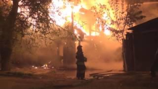 Пожар. Куйбышева 46