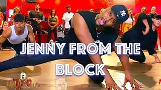 """Jennifer Lopez   """"Jenny From The Block""""   JR Taylor Choreography"""