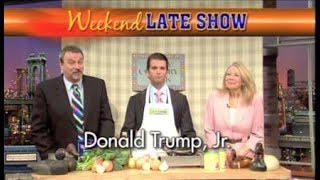 Donald Trump, Jr. on Weekend Late Show, January 13, 2012