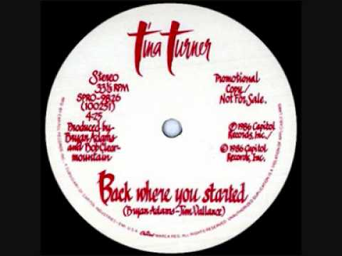 "★ Tina Turner ★ Back Where You Started ★ [1987] ★ ""Break Every Rule Tour"" ★"