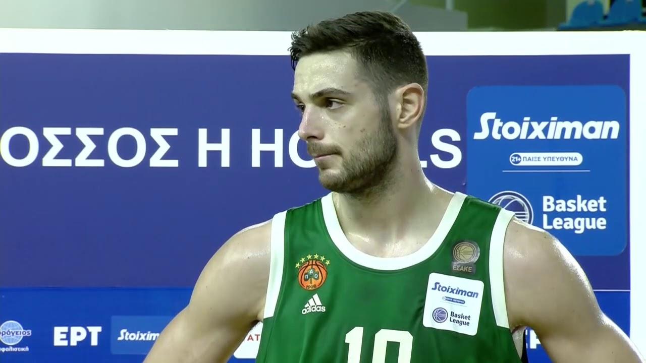 Basket League   Ι. Παπαπέτρου: Δε βλέπουμε τα ματς στην Ελλάδα σαν προπόνηση   07/03/2021   ΕΡΤ