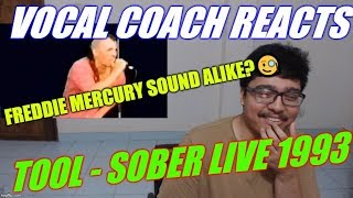 Vocal Coach REACTS To Tool Sober Live At Reading Festival 1993