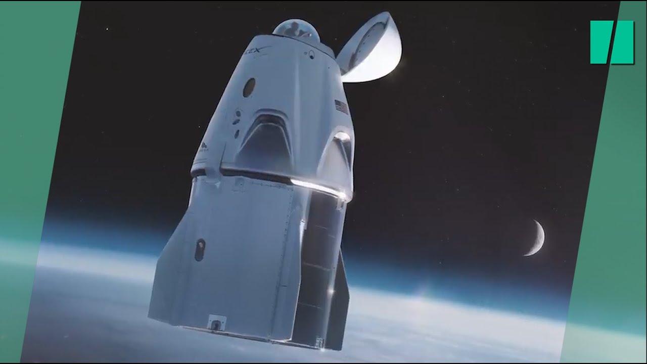Comment SpaceX a transformé sa capsule Crew Dragon en hôtel spatial