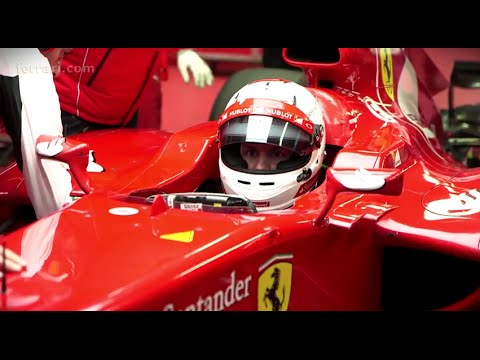 Vettel's Ferrari Induction