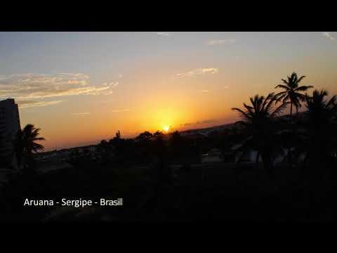 Pôr do sol em Aruana - Sergipe / Brasil