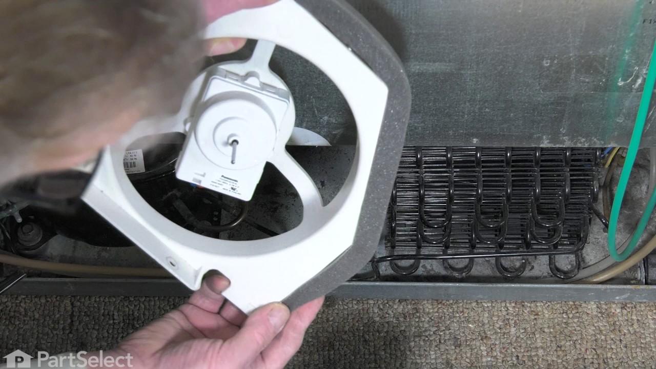 Replacing your Frigidaire Refrigerator Refrigerator Condenser Fan Motor Kit