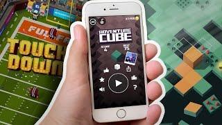 3 NAJLEPSZE NOWE GRY NA TELEFON!  | Adv. Cube & BlockyFootball & Rolling Sky - Mobilne Granie [#49]