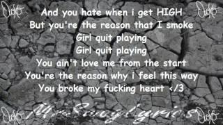 """Drake/Elijah - Falling Up [W/ Lyrics] """"OvoXo"""" 2012 -HD- Drake"""