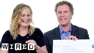 Will Ferrell & Amy Poehler Answer The Webs Most Searched Questions | WIRED