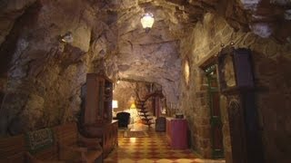 Live in a cave home
