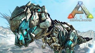 ARK: Survival Evolved - RARE ROBOT DINOSAURS!! (ARK Extinction Gameplay)