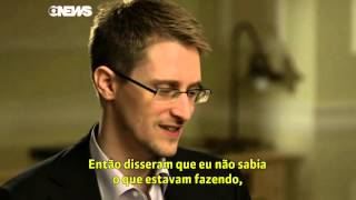 40min Edward Snowden Interview Globo Brazil TV News  (aired after NBC Brian Williams Interview)