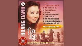 Nhạc Vàng Trước 1975 Vol.70 - Đa Tạ (Hoàng Oanh)