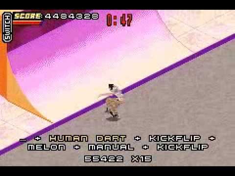 tony hawk's pro skater 4 gba rom cool
