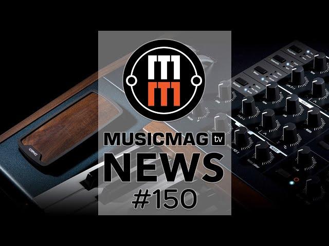 MusicMagTV News #150: Arturia PolyBrute, NI Maschine Plus, IK Multimedia MixBox и др.