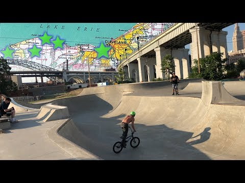 Six Skateparks One Day! - Cleveland Ohio