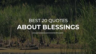 Best 20 Quotes about Blessings | Amazing Quotes | Quotes for Pictures