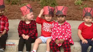 Students release lady bugs into wild