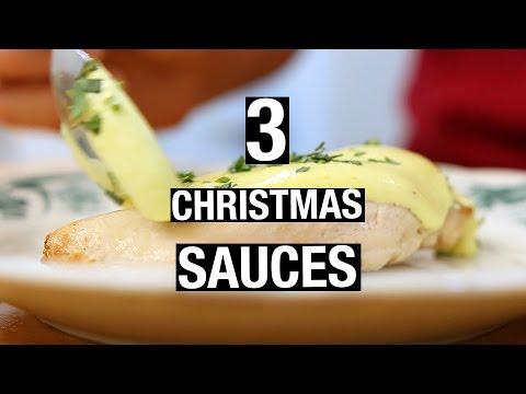 3 Christmas SAUCES | Last-Minute Christmas Recipes