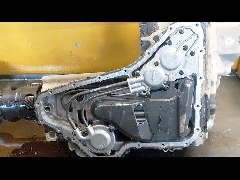 Вольво XC90, 4T65E. Последствия неприкрученной раздатки.