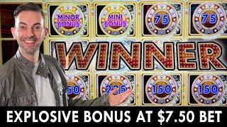 💣 EXPLOSIVE BONUS at $7.50/Bet 🔥 Welcome to Fantastic Jackpots!