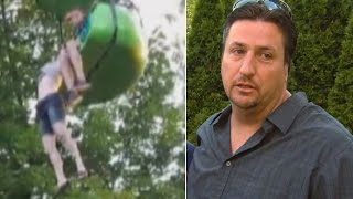 Dad Who Rescued 14-Year-Old Who Fell From Six Flags Ride: 'We All Saved Her'