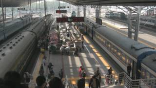 preview picture of video 'Train Journey from Beijing to Xi'an'