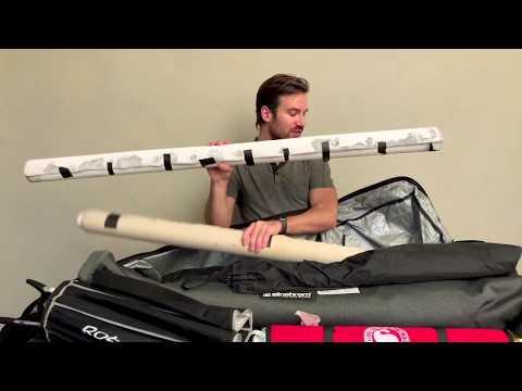 4 of 4 – What's in Felix Kunze's traveling kit – ski bag
