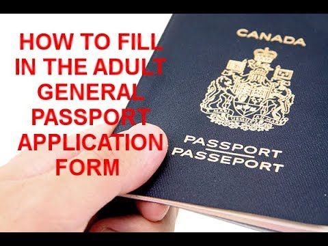 PDF Canada Pport Renewal Form - Complete and Print Online on