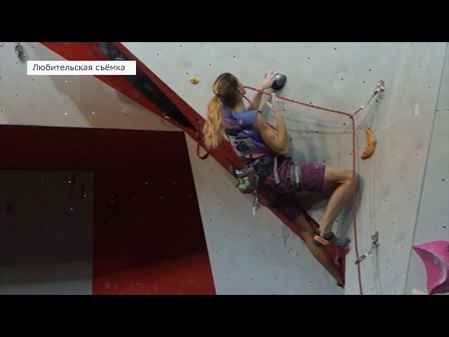 Скалолазка из Ангарска стала призёром всероссийских соревнований