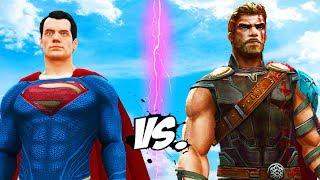 SUPERMAN VS THOR - EPIC BATTLE | ALTERNATE ENDING