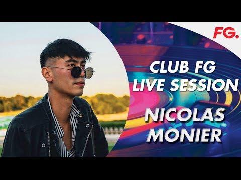 NICOLAS MONIER | CLUB FG | LIVE DJ MIX | RADIO FG
